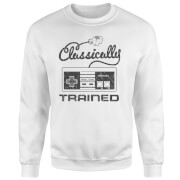 Retro NES Classically Trained Pullover - Weiß