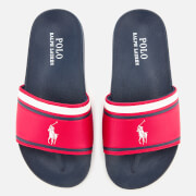 Polo Ralph Lauren Kids' Quilton Slide Sandals - Red/White
