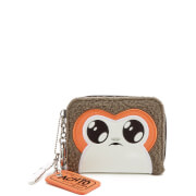 Star Wars Porg Mini Bifold Wallet - Brown/Orange