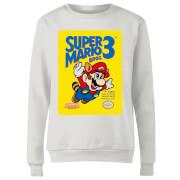 Sweat Femme Super Mario Bros 3 - Nintendo - Blanc