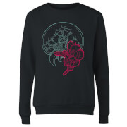 Nintendo Super Metroid Samus And Mother Brain Damen Pullover - Schwarz