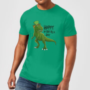 Beershield Happy St Pat-Rex T-Shirt - Kelly Green