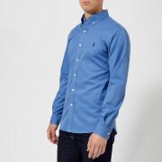 Polo Ralph Lauren Men's Garment Dye Twill Long Sleeve Shirt - Deep Blue