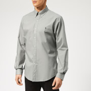 Polo Ralph Lauren Men's Poplin Long Sleeve Shirt - Blue Grey