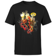 T-Shirt Homme Deadpool (Marvel) Outta The Way Nerd - Noir