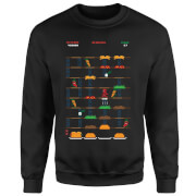 Marvel Deadpool Retro Game Sweatshirt - Black
