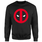Marvel Deadpool Clean Logo Sweatshirt - Black
