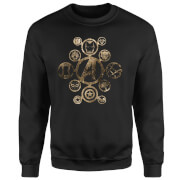 Marvel Avengers Infinity War Icon Sweatshirt - Black