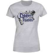 Marvel Avengers Infinity War Children Of Thanos Damen T-Shirt - Grau