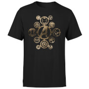 Marvel Avengers Infinity War Icon T-Shirt - Schwarz