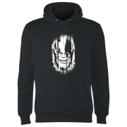 Marvel Avengers Infinity War Thanos Face Hoodie - Black