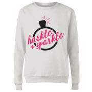 Harkle Sparkle Women's Sweatshirt - White