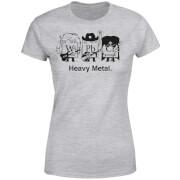 Heavy Metal Women's T-Shirt - Grey