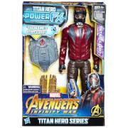 Figurine Star Lord Hasbro Marvel Avengers Infinity War Titan Heroes Power FX
