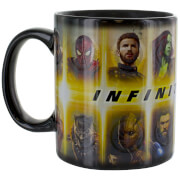 Marvel Avengers Infinity War Heat Change Mug