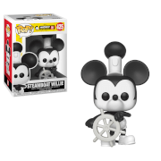 Disney Mickey's 90th Steamboat Willie Pop! Vinyl Figur