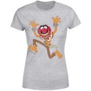Disney Muppets Animal Classic Women's T-Shirt - Grey
