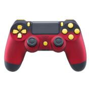 Manette Sans Fil Playstation 4 - Rouge Ombré et Or