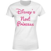 T-Shirt Femme La Prochaine Princesse Disney - Blanc