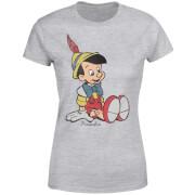 Disney Pinocchio Classic Damen T-Shirt - Grau