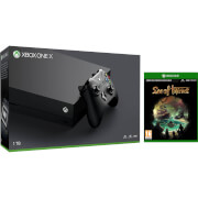 Xbox One X 1TB with Sea of Thieves
