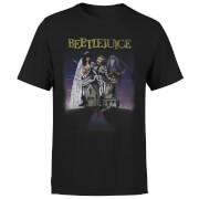 T-Shirt Homme Affiche Abîmée Beetlejuice - Noir