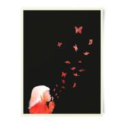 Robert Farkas Blowing Butterflies Art Print