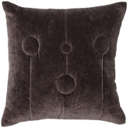Bloomingville Cotton Cushion - Brown