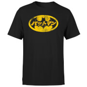 DC Comics Batman Japanese Logo T-shirt - Zwart