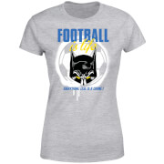 T-Shirt Femme Batman DC Comics - Football Is Life - Gris