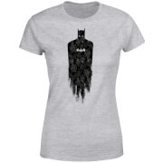 Camiseta DC Comics Batman Brushed - Mujer - Gris