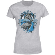 Camiseta DC Comics Batman Dark Knight - Mujer - Gris