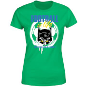 T-Shirt Femme Batman DC Comics - Football Is Life - Vert