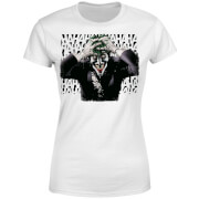 DC Comics Batman Killing Joker HaHaHa Women's T-Shirt - White