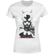 DC Comics Batman Solid Stare Women's T-Shirt - White