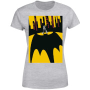 DC Comics Batman Bat Shadow Dames T-shirt - Grijs