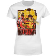 Camiseta DC Comics Batman Dream Team - Mujer - Blanco
