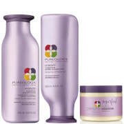 Pureology Hydrate Colour Care Shampoo, Conditioner and Superfood Mask Trio
