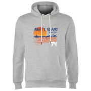 Jaws Amity Swim Club Hoodie - Grey