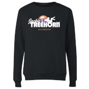 The Big Lebowski Treehorn Logo Women's Sweatshirt - Black