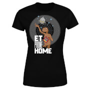 E.T. Phone Home Dames T-shirt - Zwart