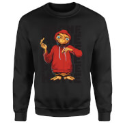 ET Phone Home Stylised Sweatshirt - Black