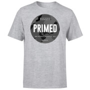 Primed Stamp T-Shirt - Grey