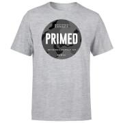 Camiseta Primed Stamp - Hombre - Gris