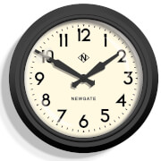 Newgate 50's Electric Wall Clock