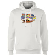Back To The Future Lasso Hoodie - White