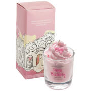 Bomb Cosmetics Pink Bubbly Piped Candle