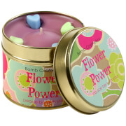 Bomb Cosmetics Flower Power Tin Candle