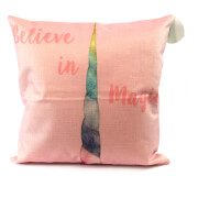 Black Ginger Unicorn Cushion