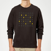 Ranz + Niana Cross Spread Sweatshirt - Black